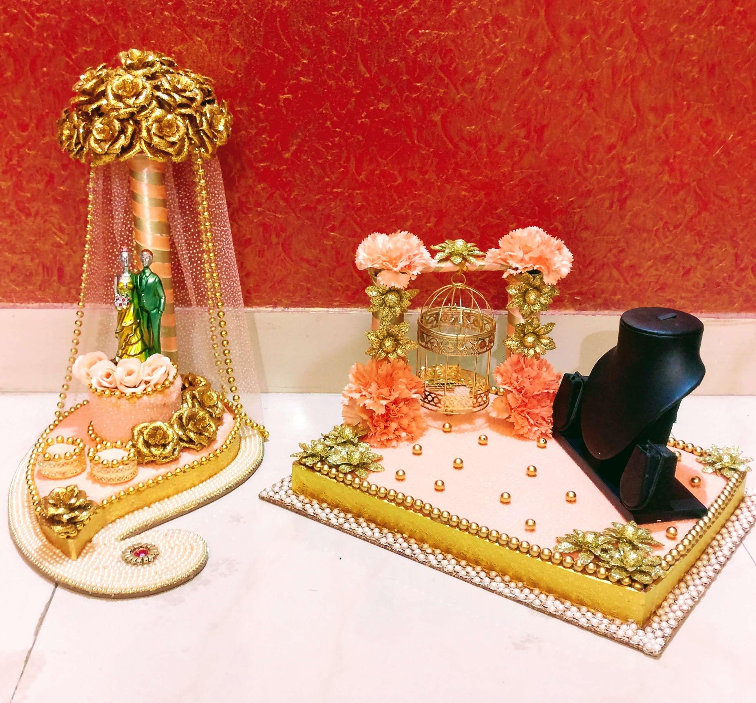 Glitterzz Creatio Engagement Ring Platter Shaadiwish