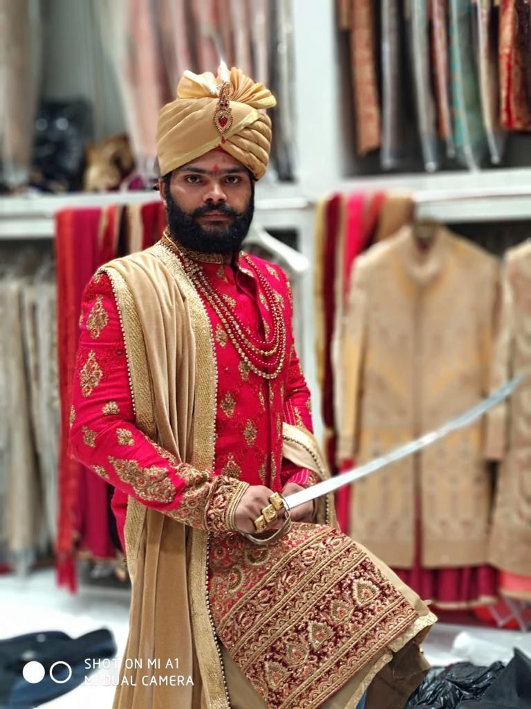 Portfolio - Maharaja Prince sahab sherwani
