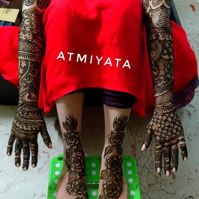 Atmiyata Mehendi Artist - Portfolio