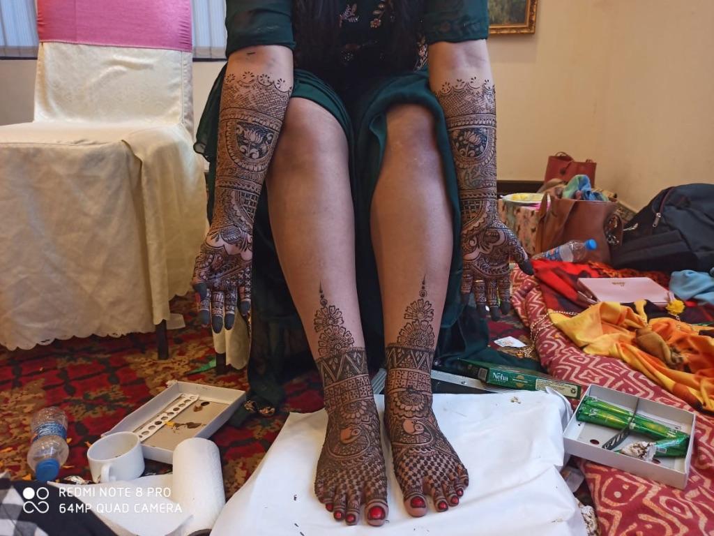 Geet Mehndi Arts - Portfolio