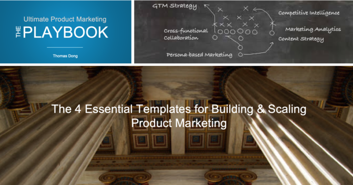 The 4 Essential Templates for Building & Scaling Product Marketing
