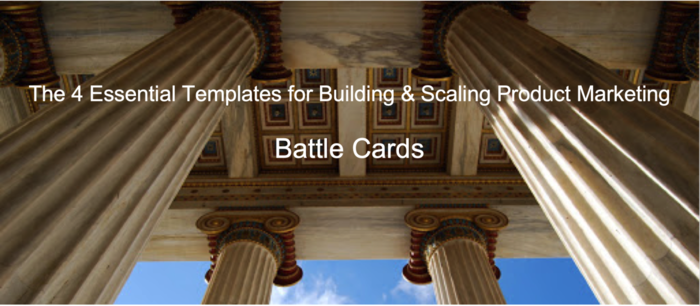 The Essential Competitive Battle Card Template