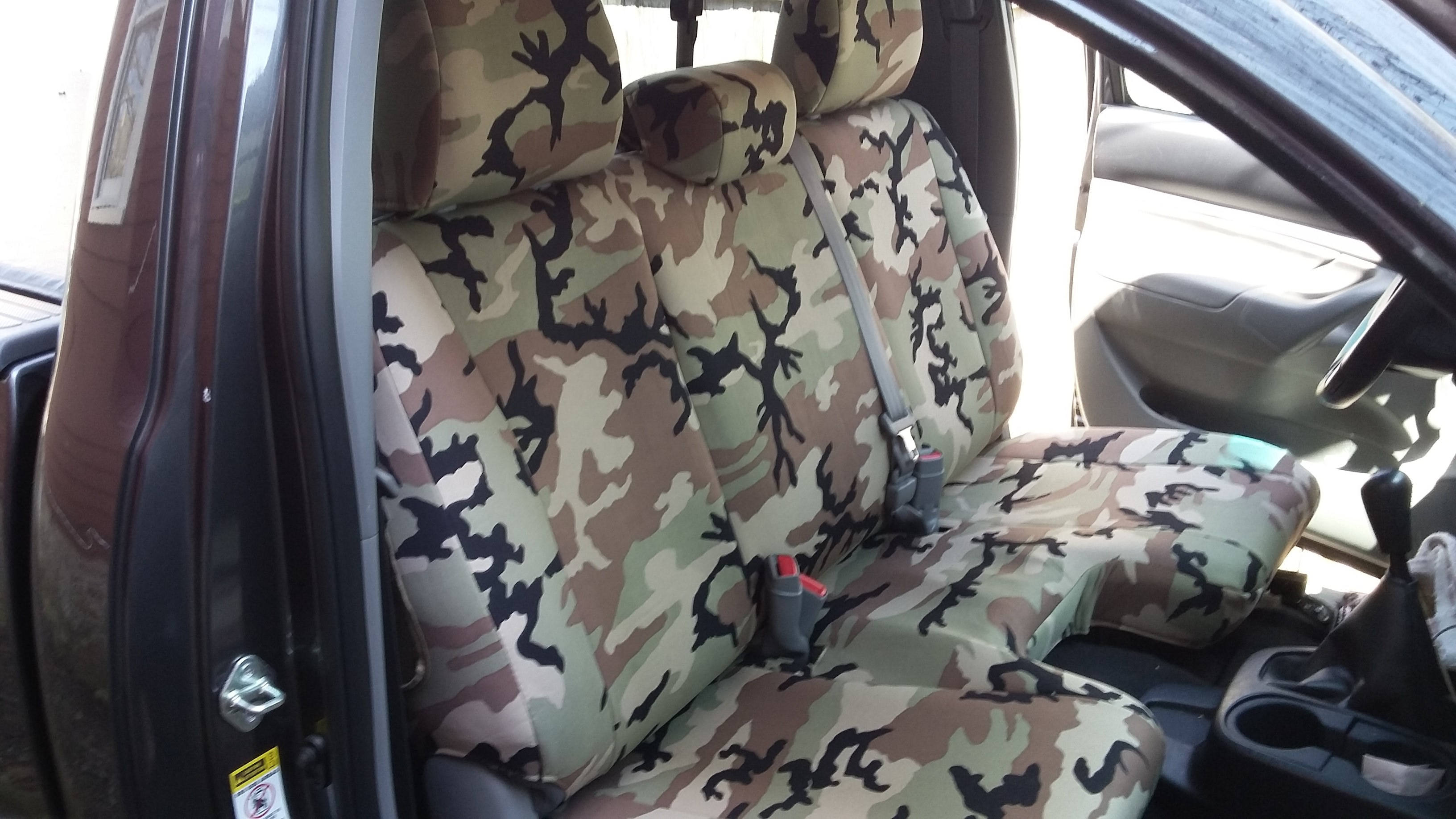 Military Camo Seat Covers