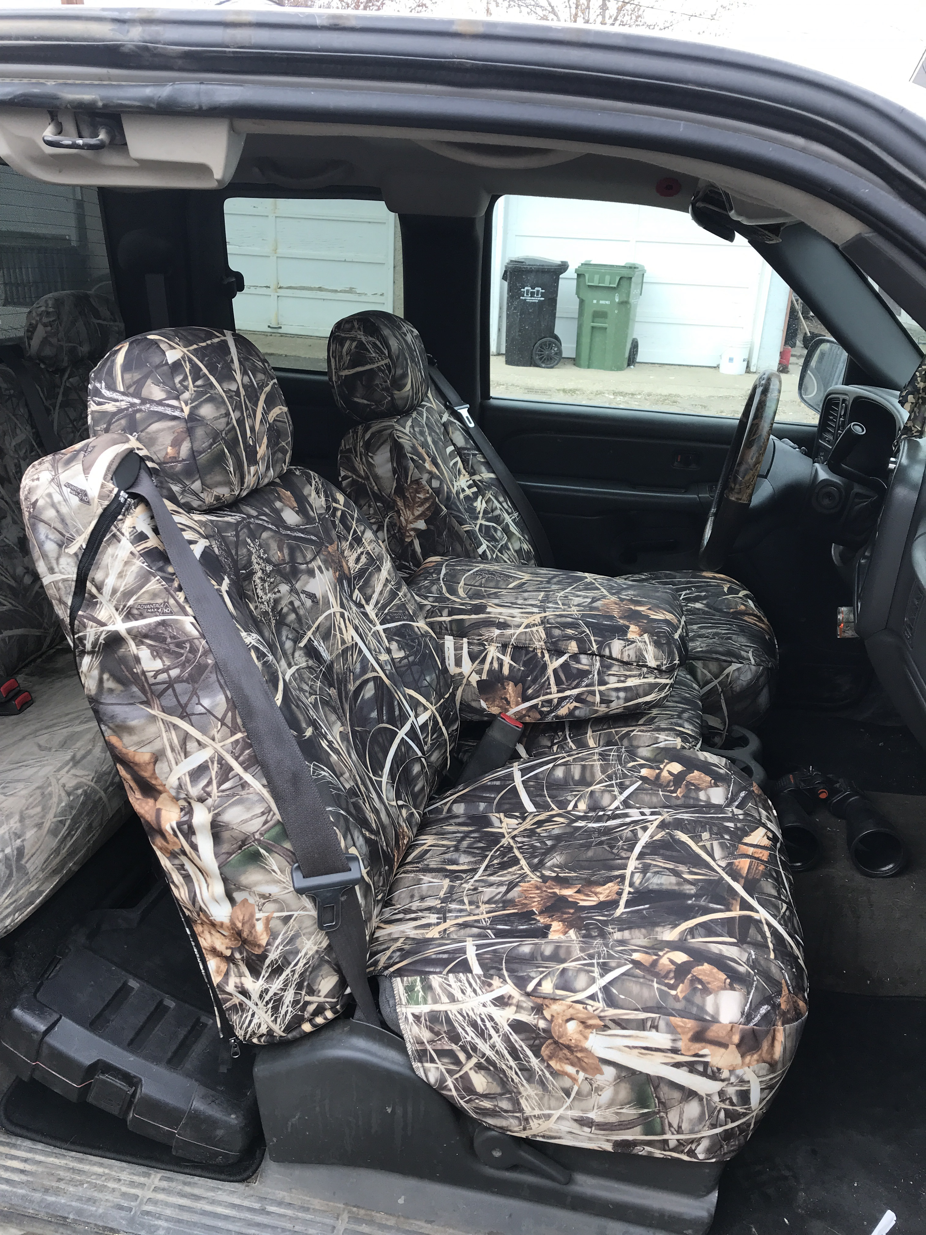 2005 ford f150 camo seat covers