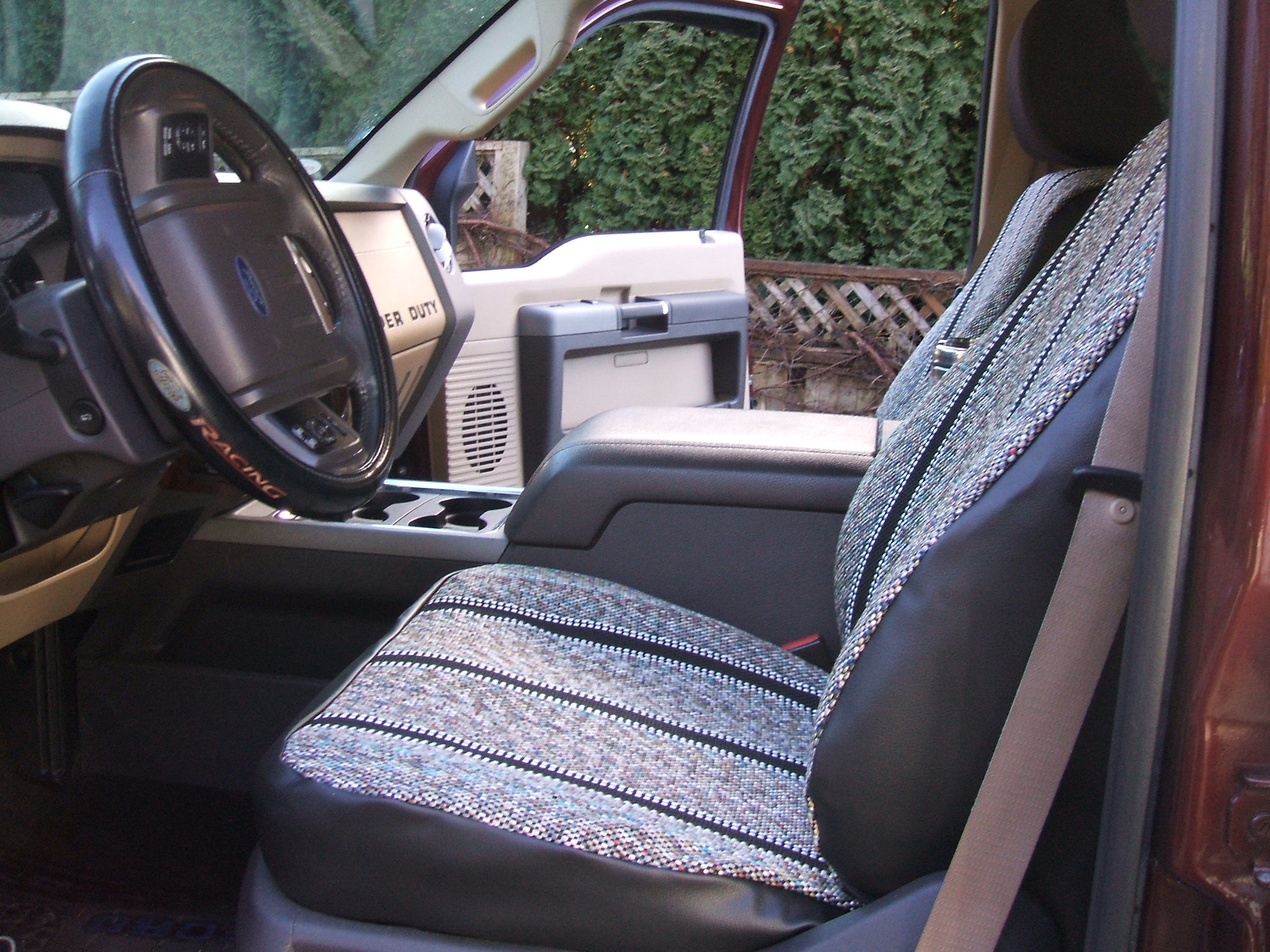 Seat Covers For Trucks >> Saddle Blanket Seat Covers