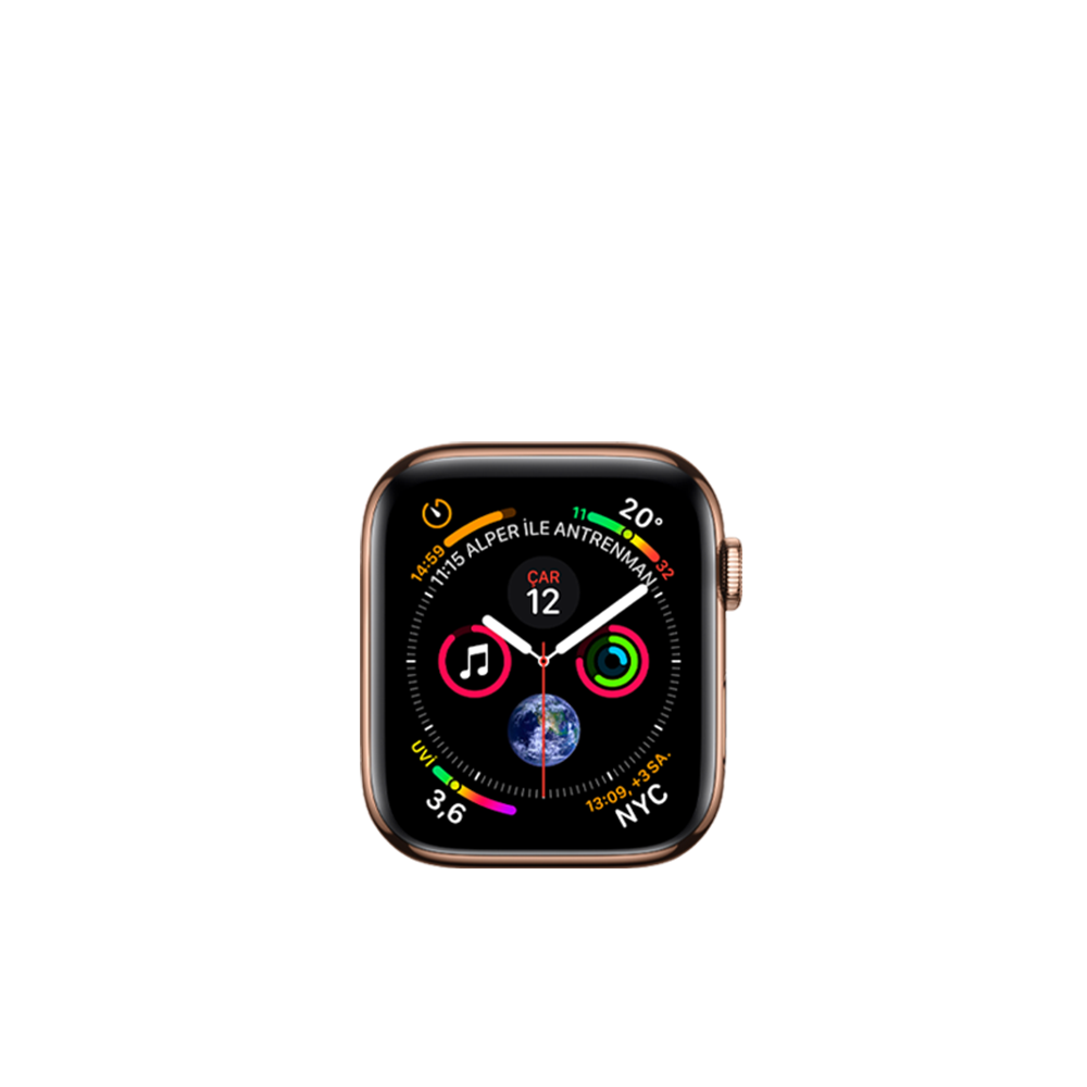 Apple Watch Series 4 (Cellular, Steel, 40mm) / 16GB / MTUT2LL/A