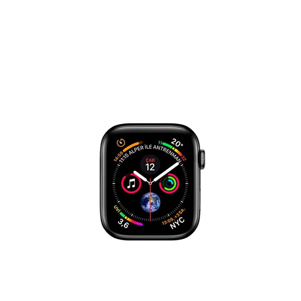 Apple Watch Series 4 (Cellular, Steel, 40mm) / 16GB / MTUN2LL/A