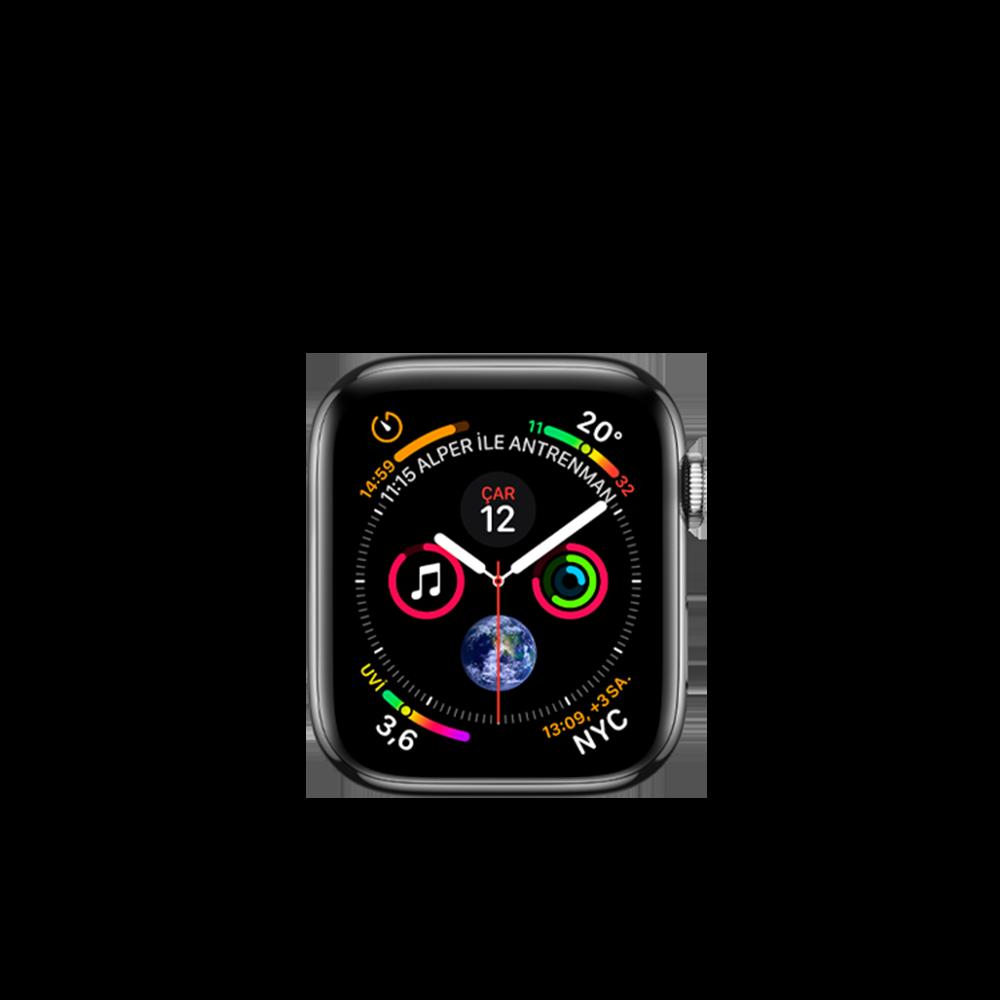 Apple Watch Series 4 (Hermes, Steel, 44mm) / 16GB / MU6V2LL/A