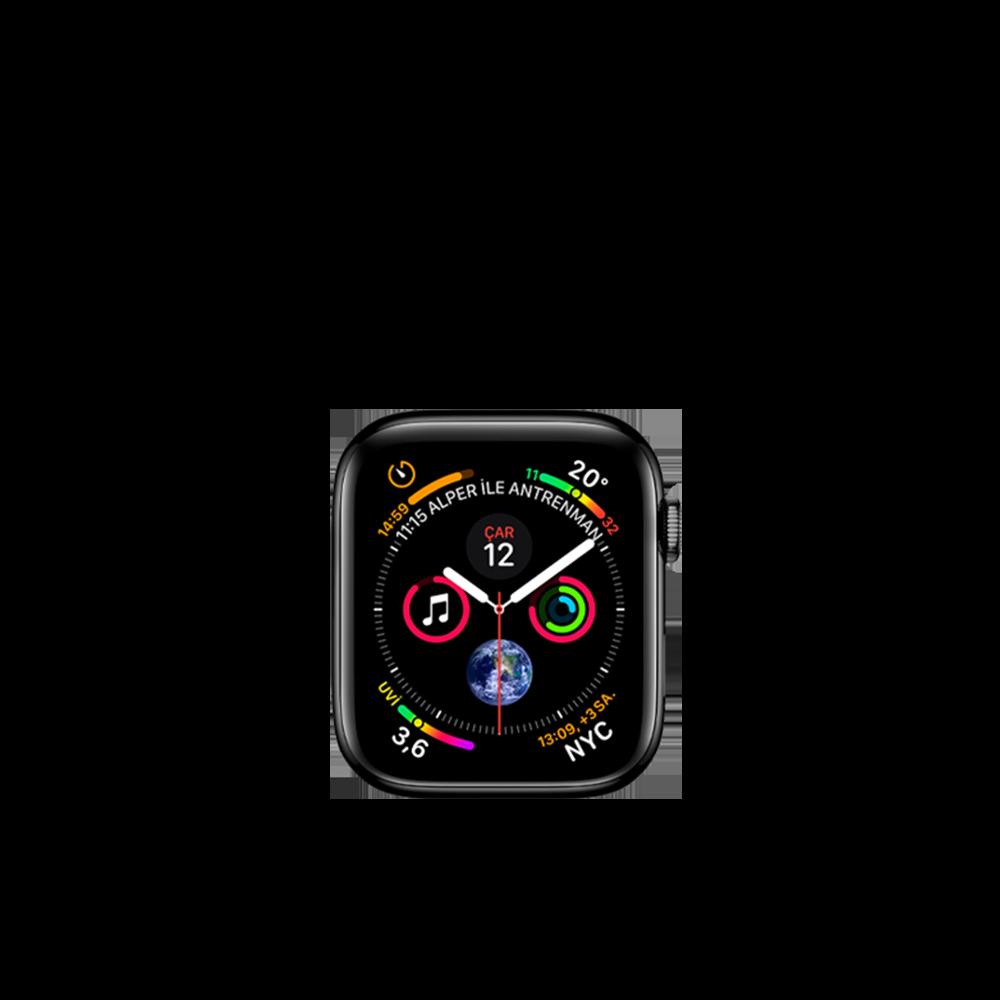 Apple Watch Series 5 (Hermes, Steel & Ceramic, 40mm) / 32GB / MWX02LL/A