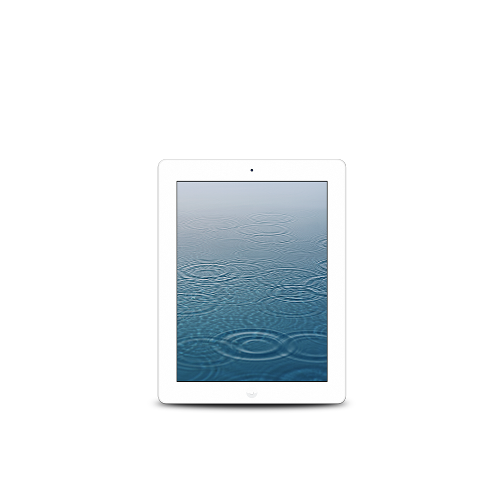 iPad 4th Gen (WiFi + Cellular) / 128GB / ME401LL/A