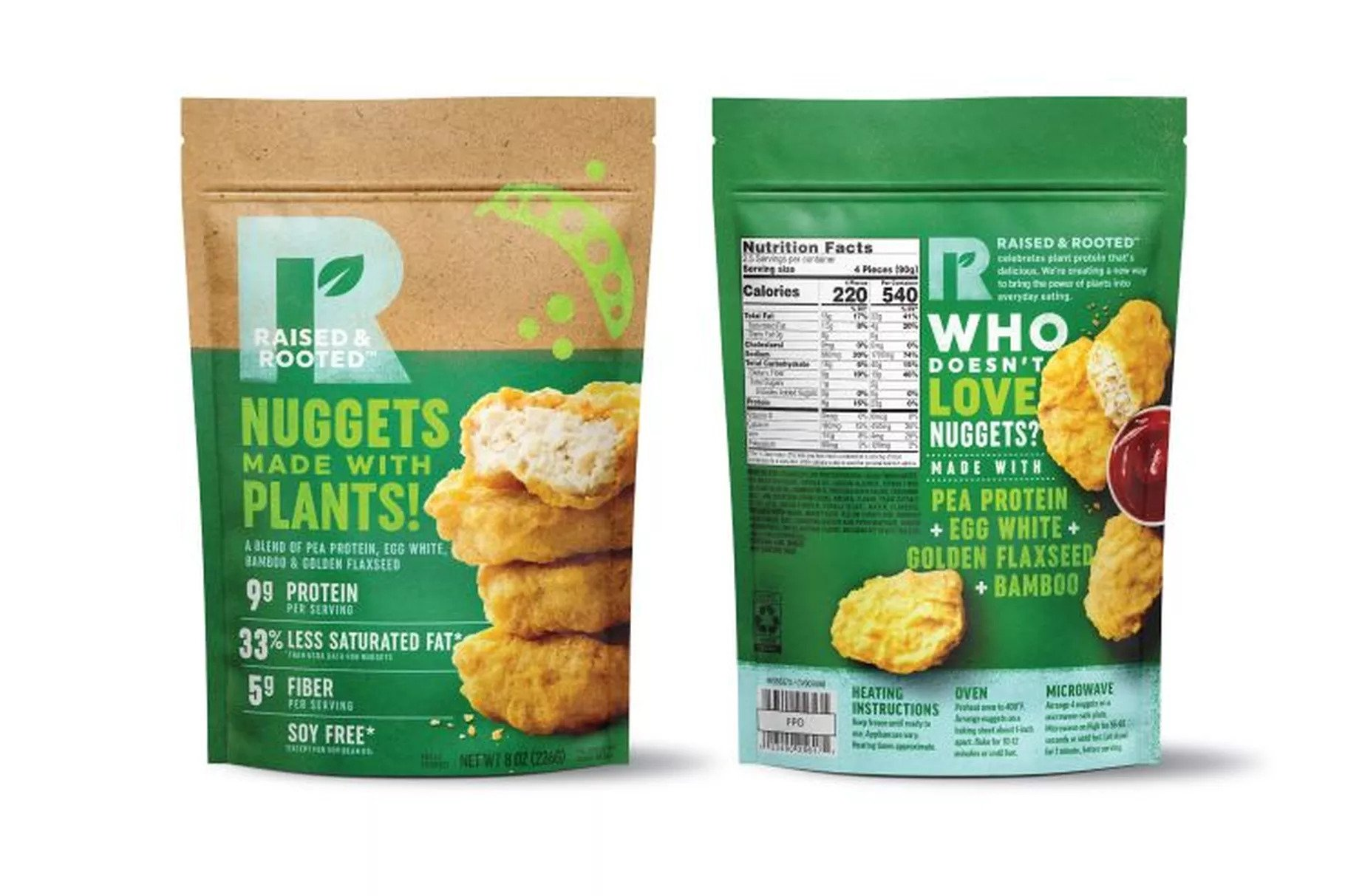 Tyson Foods Unveils Plant-Based Nuggets As It Moves Into Meat Alternatives