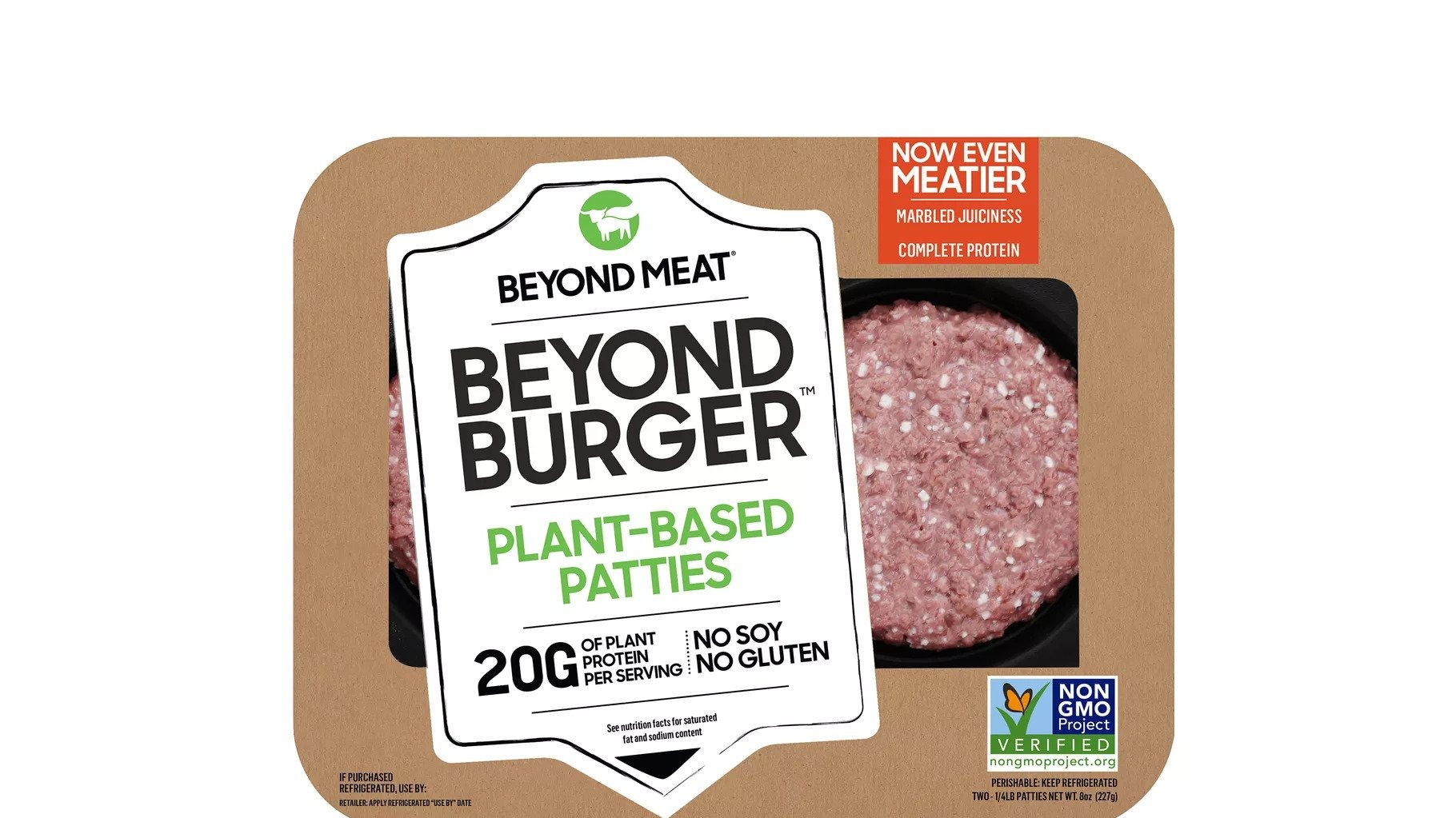 Beyond Meat Upgrades Its Burger With Better Marbling And Complete Protein