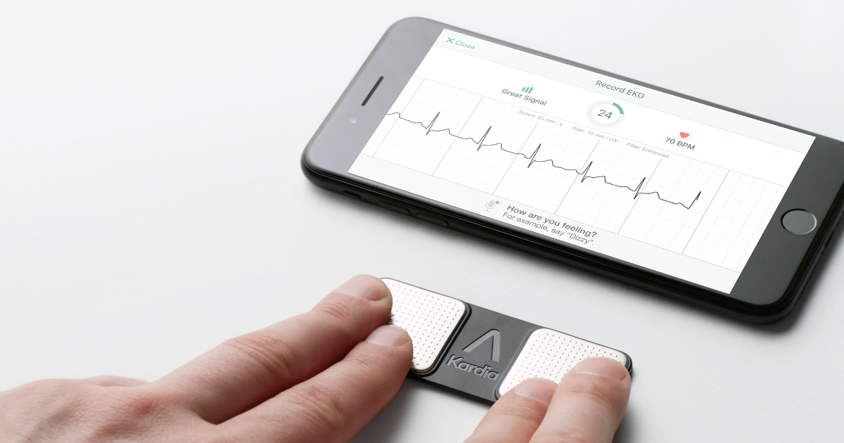 FDA Grants First-Ever Clearances To Detect Bradycardia And Tachycardia On A Personal ECG Device
