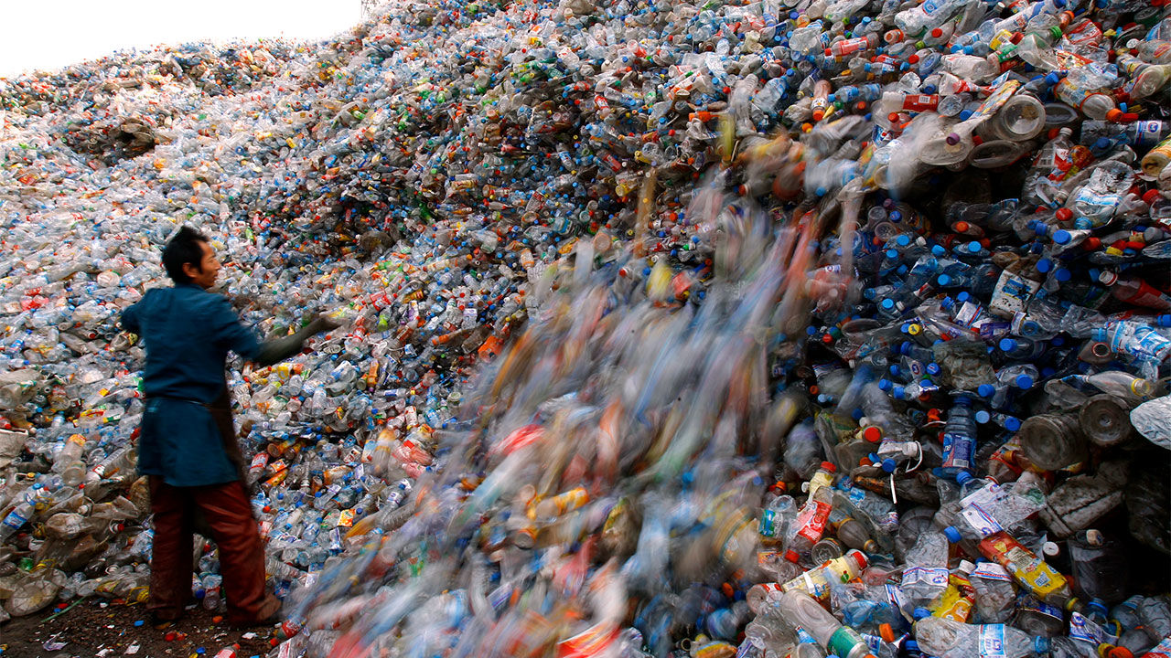 Just 10% Of U.S. Plastic Gets Recycled, But A New Kind Of Plastic Could Change That