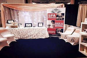 spa party decor