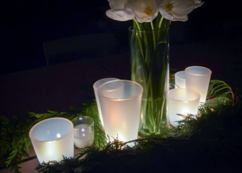 Lighted Rock Glasses