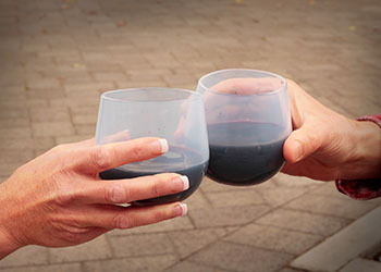 Cheers! Silicone Wine Glass