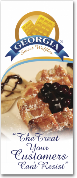 Georfia Sweet Waffles Trifold Cover