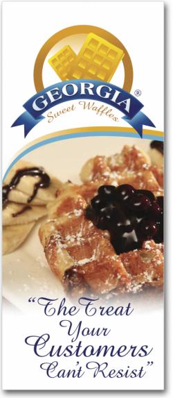 Georfia Sweet Waffles Trifold Cover
