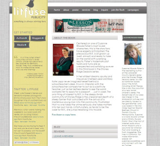 Litfuse Publicity Group Website designed by SA Design