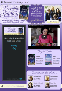 Secretly Smitten Live Webcast by Simply Amusing Designs