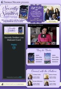 Secretly Smitten Live Webcast by Simply Amusing Designs