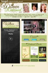 women redeemed live webcast event by simplyamusingdesigns.com