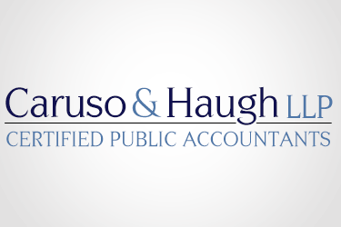 CARUSO & HAUGH CPAs Delray Beach Florida Logo Design