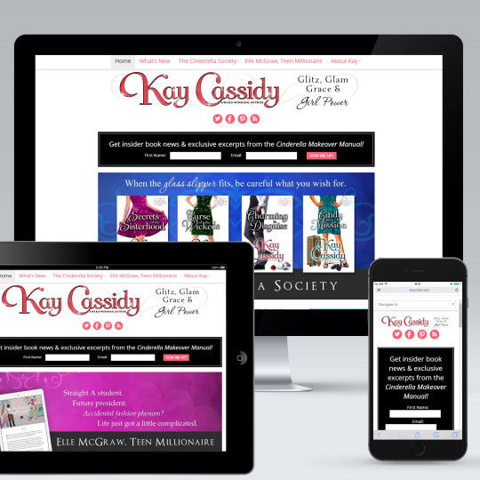 Kay Cassidy Responsive Website Design