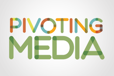 Pivoting Media Logo Design