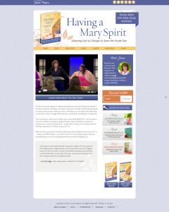 Having a Mary Spirit Joanna Weaver