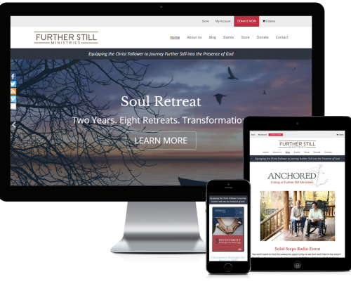Further Still Ministries WordPress Design
