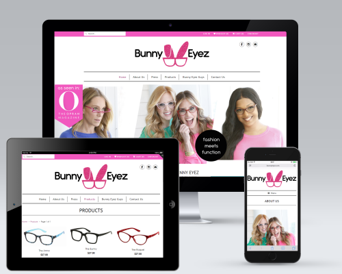Bunny Eyez E-Commerce Website