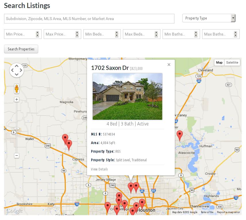 Wordpress Plugin Map Views
