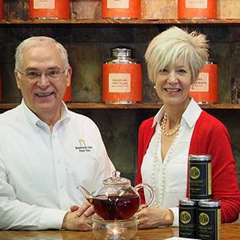 Bruce and Shelley Richardson, Elmwood Inn Fine Tea