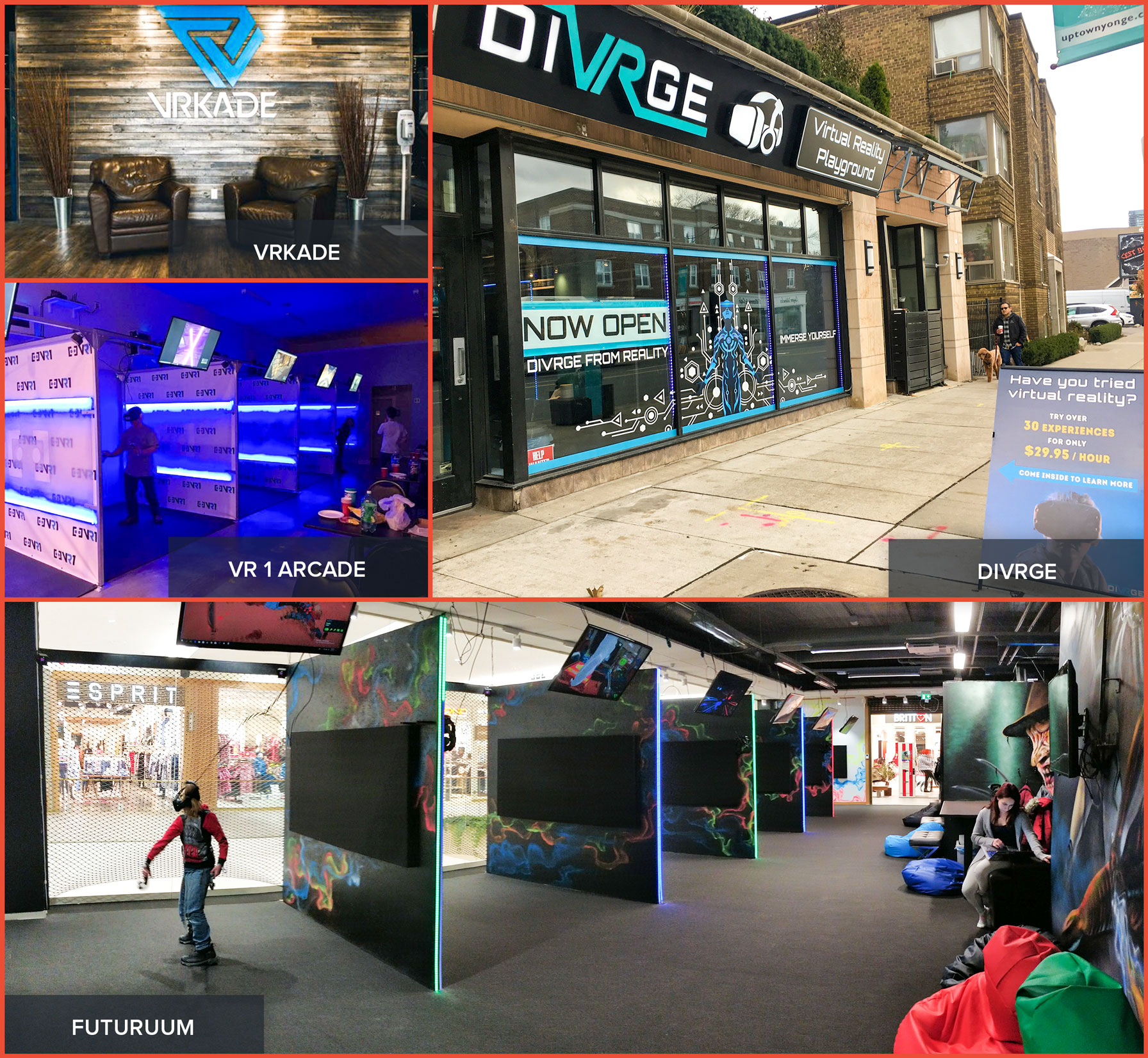03a1e3ca954f VR Arcade Open Business Plan  Customer Experience