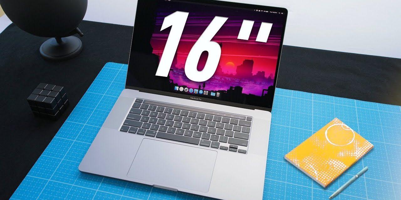 I really love the new 16 Macbook Pro