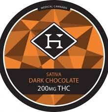 [Hashman] 200mg Sativa Chocolate