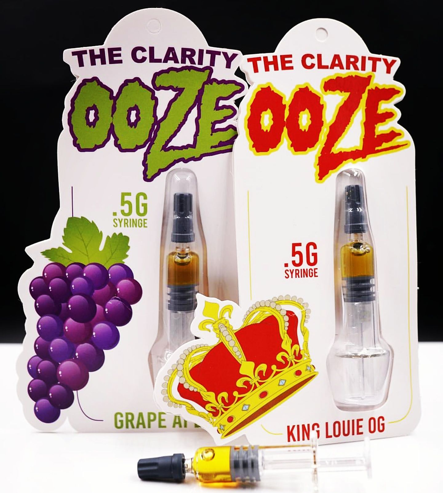 The Clarity Ooze Blood Orange