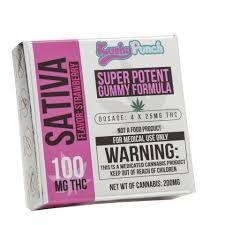 100MG Kushy Punch Sativa Gummy
