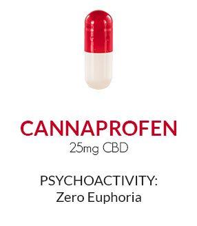 Get Zen Cannaprofen CBD 2pk Blister Pack