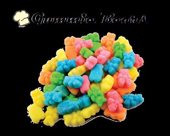 Infused Creations - Sour Gummi Bears, 300mg Sativa