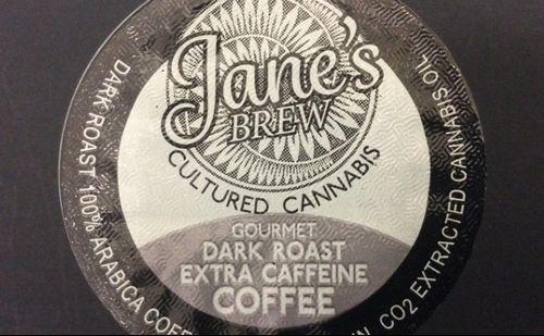 Dark Roast Coffee K-Cup by House of Jane (80mg THC)
