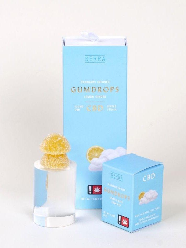 Serra - Lemon Ginger 2 Pack Gumdrops, CBD