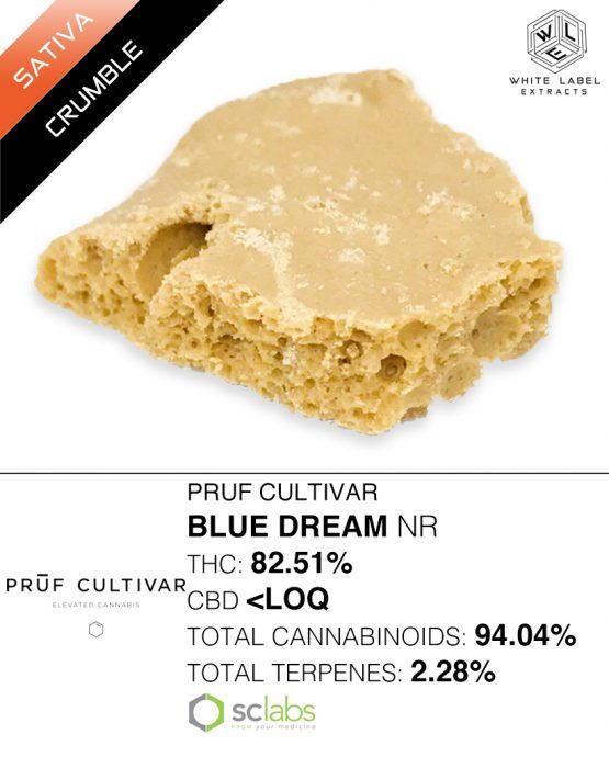 WLE - Blue Dream NR, Sativa Hybrid, Honeycomb