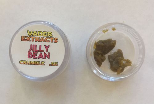 Vader Extracts Crumble- Ak 47