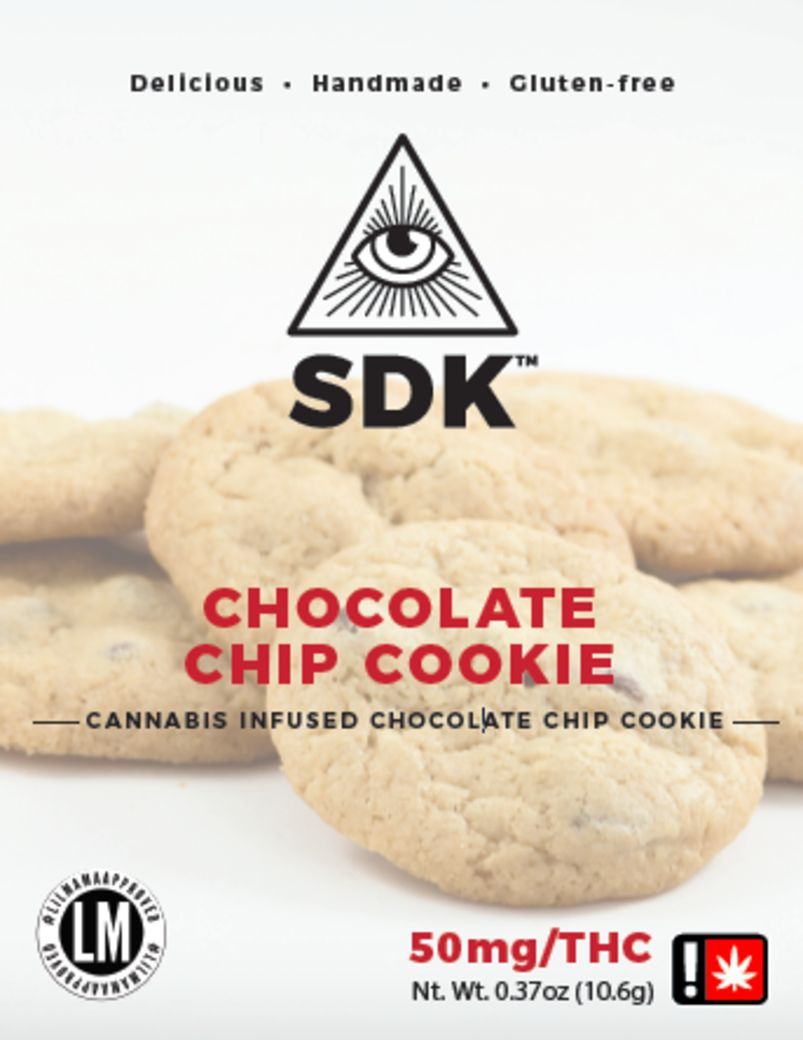 SDK - Chocolate Chip Cookie, Single, 50mg