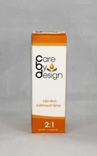 2:1 CBD Spray - Care By Design 5 ML
