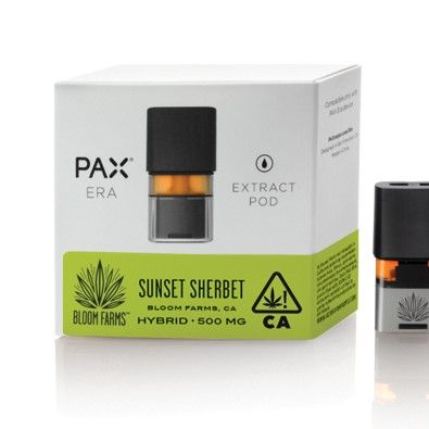 Pax Era Bloom Farms Sunset Sherbert Hybrid $50