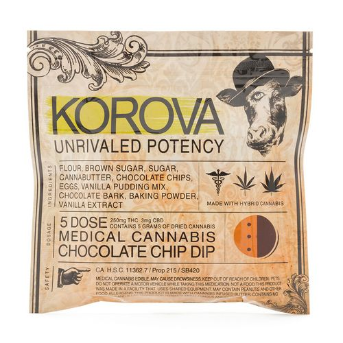 Korova Chocolate Dip, 250mg